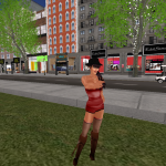 London Wisdom. Modern day London City in Second Life