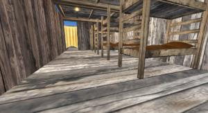 Salty Mole Bunk House Interior