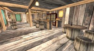 Salty Mole Tavern Interior